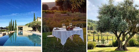 weekends and luxury holidays in the south of France.