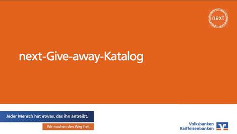 Adoros Werbeartikel. Der offizielle Werbemittelkatalog für Auszubildende der Volksbanken und Raiffeisenbanken.