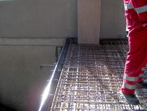 Stahlbetonböden der Industriebodenbau Lengenfelder GmbH in Hirschaid bei Bamberg