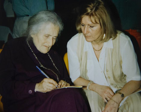 Herta Plattner und Ruth Cohn