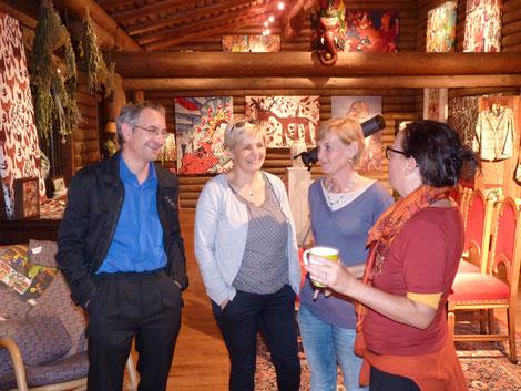 Helmut Mühlbacher, Brigitte Ganser, Elisabeth Dygruber, Simone Gautsch