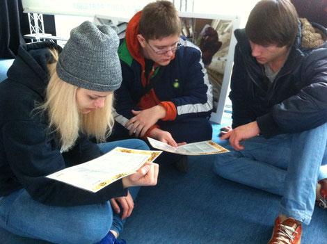 SchülerInnen des BRG Dornbirn-Schoren setzen sich mit den Zielen der UNO auseinander. Was ist ihre Motivation?