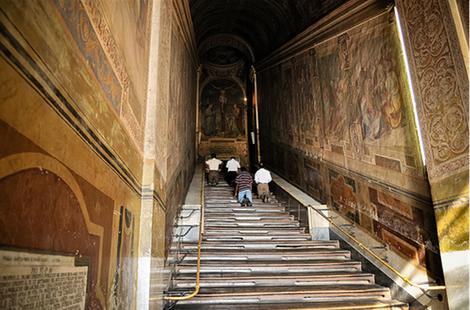 Scala Santa à Rome