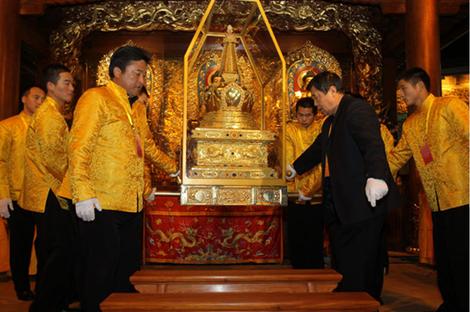 Relique de la dent de bouddha - Kandy