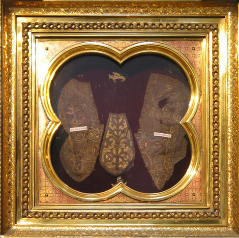 Sandales du Christ. Abbaye de Prüm