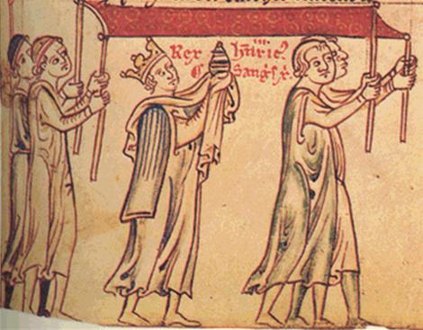 Procession du Saint Sang le 13/10/1247
