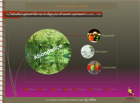 Feng Shui, abondance, formation, livret, livre, pdf