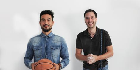 FITrate Gründer Vahid Imani und Jörg Lehmeier