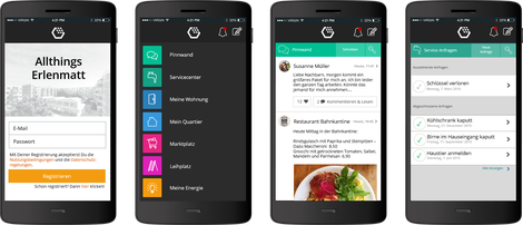 Die Erlenmatt Service-App für Mieter
