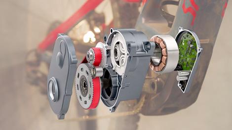 Der Specialized 2.1 Custom RX Trail-tuned e-MTB Motor