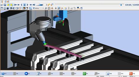 Freiformflächen 5-Achs CNC