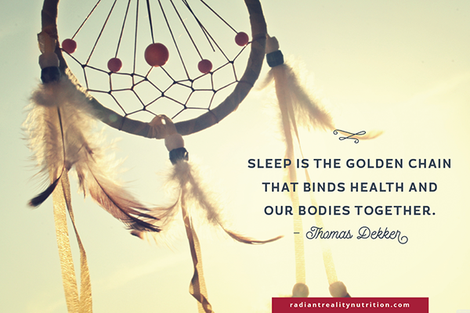 Radiant Reality Blog | 9 Ways to Elevate Your Sleep | Thomas Dekker_Quote On Sleep
