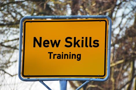 Coaching Praxis Anja Kela, New Skills training Schild