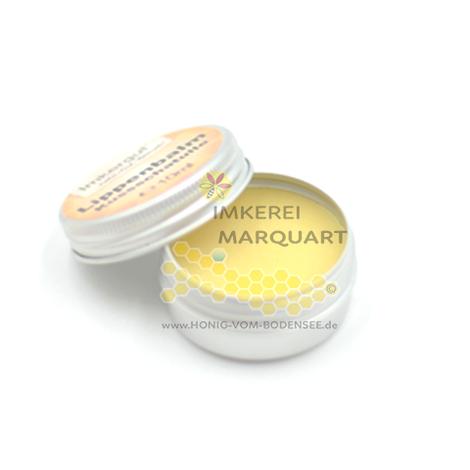 Natürliche Lippenpflege mit Bienenwachs