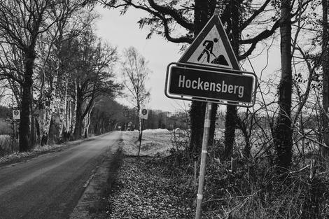 Hockensberg, Jürgen Deinert, Baustelle
