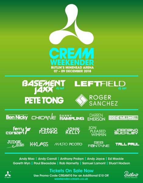 Cream Weekender