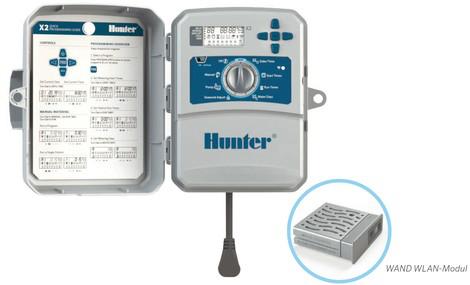 Hunter X2 WLan Steuergerät zur Bedienung von Bewässerung und Beregnung