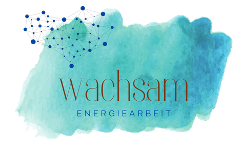 wachsam - Energiearbeit, Logo entstanden aus Moodboard Inspiration, Webdesign Silvia Beer, Aarau
