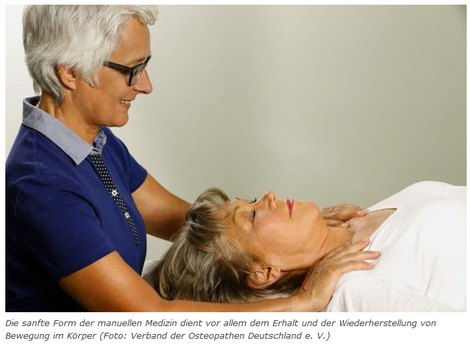 Osteopathie hilft, Beweglichkeit im Alter zu erhalten.