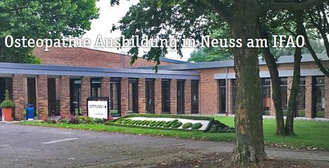 IFAO - Osteopathie Ausbildung in Düsseldorf und Neuss