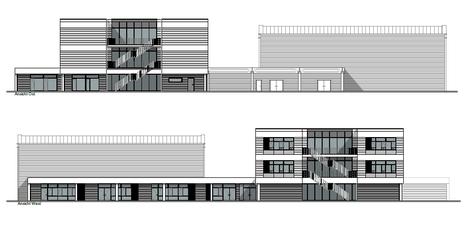 Architekturentwurf Schulzentrum Reinbek