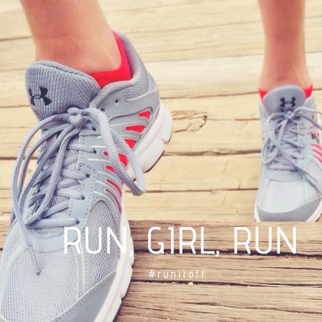 Geht Laufen Mädels, das hilft.