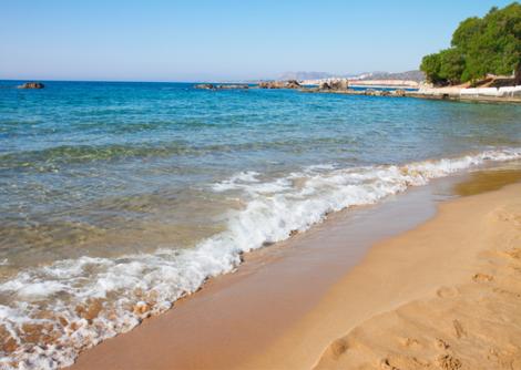 Kreta Familienurlaub -Lyttos Beach -Strand