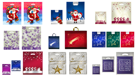 Weihnachtstüten mit tollen Motiven