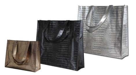 Tragetasche in coolem Design als Goodie-Bag nutzen.