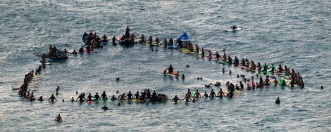 Hawaii - Sammelpunkt der Surfer