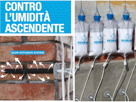 barriera chimica contro l'umidità di risalita