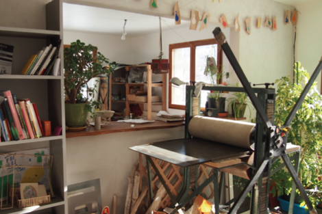 L'atelier de Capucine Thoraval