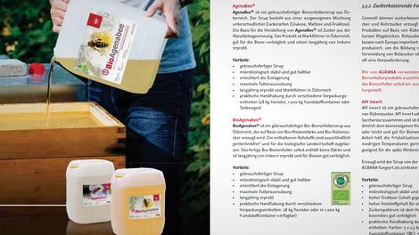 Fibel mit Praxistipps für das richtige Füttern von Bienen