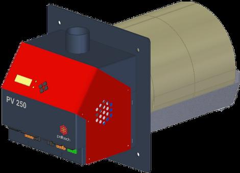 Nordland Heizgeräte Pelletbrenner PV 250