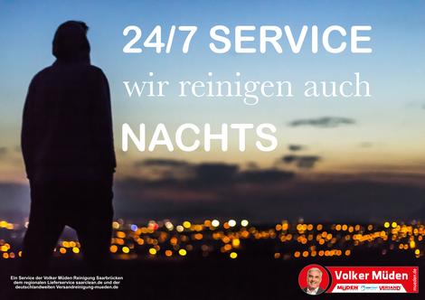 mueden.de, blog, Wir reinigen auch nachts, 24-Stunden Service 24/7