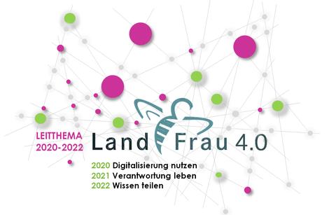 """Leitthema """"LandFrau 4.0""""und Jahresthemen 2020-2022 der LandFrauen Württemberg-Hohenzollern"""