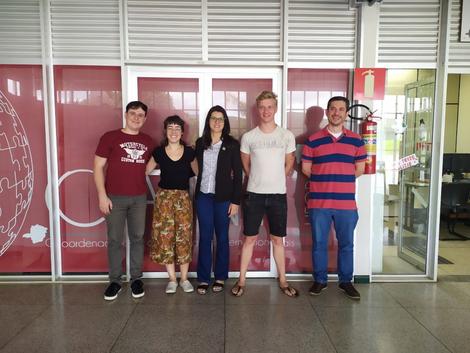 AndersonGamarano, Thais Varella,Jacqueline Schultz,Leon Sunier,Guilherme JorgeBrigoliniSilva