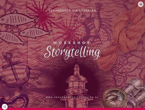 Storytelling en verandering