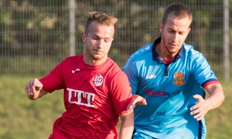 Matchwinner Markus Ernst im Einsatz für den FCD (Foto: Becker)