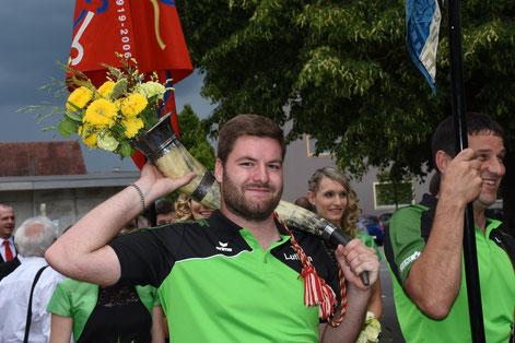 Aktuar Philipp Christen // Photo: Sportfest 18