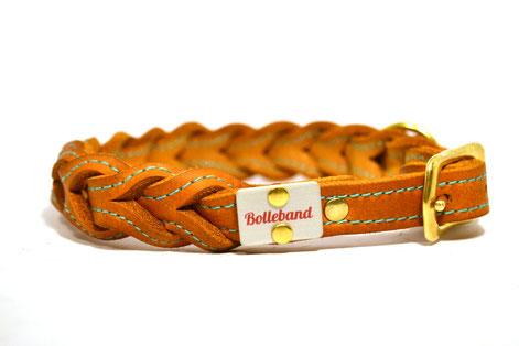 Lederhalsband_geflochten