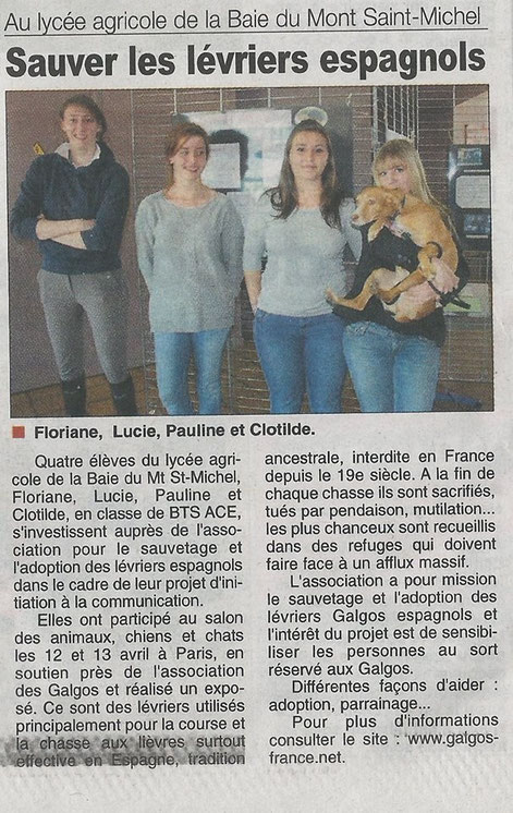 "Journal ""La Gazette"" - Manche"