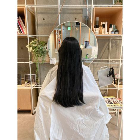 横浜 元町 石川町  髪質改善 ヘアドネーション パーマ