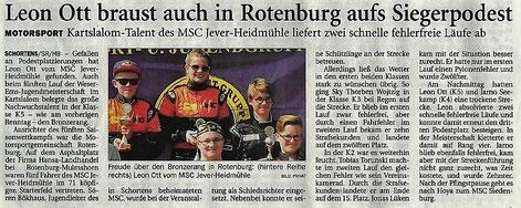 Nordwest-Zeitung 01.06.2017