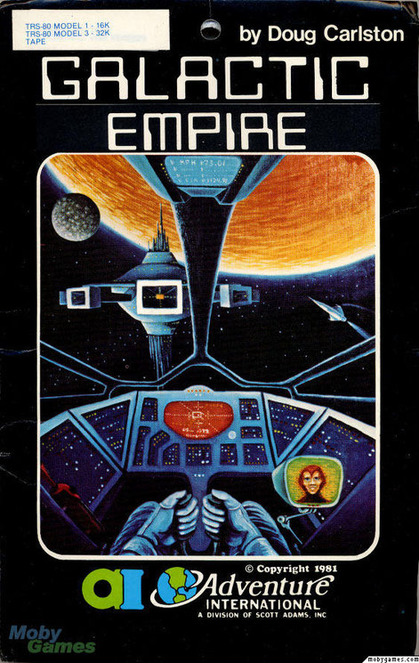 Galactic empire trs 80 game