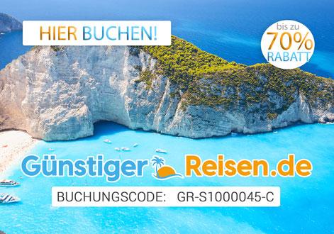 www.günstiger-reisen.de mit Buchungscode GR-S1000045-C