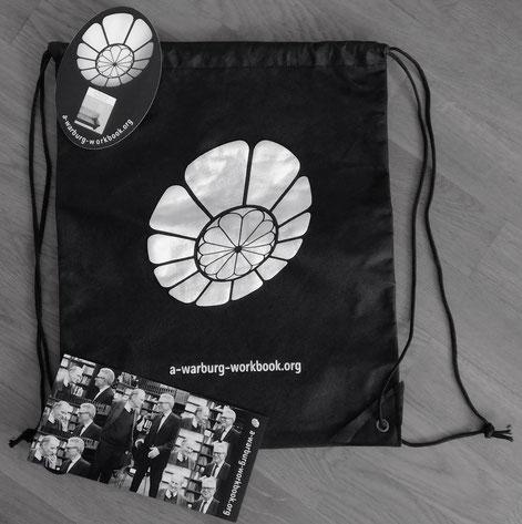 """Rucksack, Sticker, Flyer von """"A Warburg Workbook"""""""