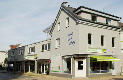 Unser Ladenlokal in der Solinger Straße 32