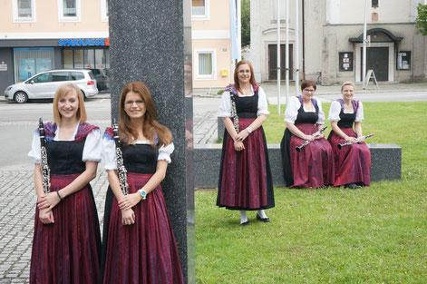 v.l.: Monika Reiffinger-Wiesner, Manuela Hebertshuber, Andrea Eisenführer, Rosemarie Bachmayer; Abwesend: Barbara Hohensinn, Lisa Wiesbauer