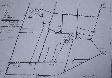 Mapa Okręglika - Lasu Zgierskiego - Lasu Harcerskiego